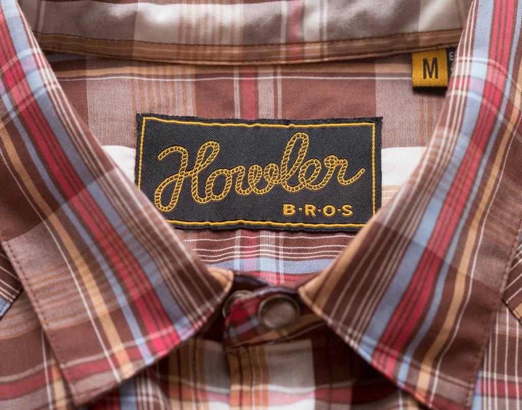 Howler Brothers Howler Bros H Bar B Snapshirt Lafayette Plaid