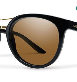 Smith Sport Optics Smith Bridgetown Sunglasses -  Black Frame w/ Chromapop Polarized Brown Lens