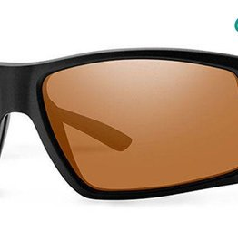 Smith Sport Optics Smith Challis Sunglasess - Matte Black Frame w/ ChromaPop Polarized Copper Lens
