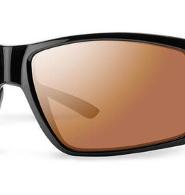 Smith Sport Optics Smith Colson Black Frame Polarchromic Techlite Copper Mirror Lens