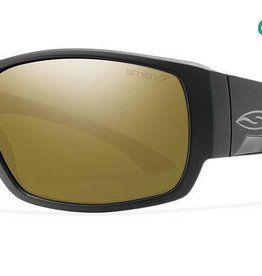 Smith Sport Optics Smith Dockside Sunglasses - Matte Black Frame w/ ChromaPop Bronze Mirror Lens