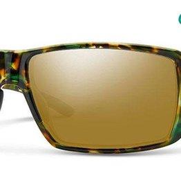 Smith Sport Optics Smith Guides Choice Sunglasses - Flecked Green Tortoise Frame w/ Chromapop Copper Polar Bronze Mirror Lens