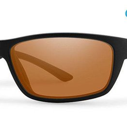 Smith Sport Optics Smith Ridgewell Sunglasses - Matte Black Frame w/  ChromaPop Polarized Copper Lens