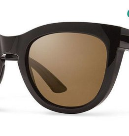 Smith Sport Optics Smith Sidney Sunglasses - Black Frame w/ Chromapop Polarized Brown Lens