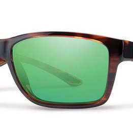 Smith Sport Optics Smith Wolcott Sunglasses - Tortoise Frame w/ Polarized Green Mirror Lens