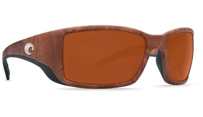 Costa Del Mar Costa Blackfin Sunglasses - Gunstock Frame & Copper 580G Lens