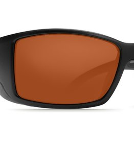 Costa Del Mar Costa Blackfin Black Frame Copper 580G Lens