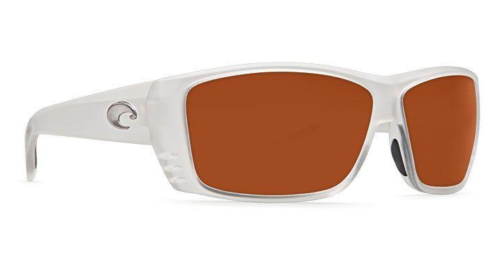 Costa Del Mar Costa Cat Cay Sunglasses -  Matte Crystal Frame & Copper 580P Lens