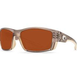 Costa Del Mar Costa Cortez Sunglasses - Crystal Bronze Frame &  Copper 580G Lens