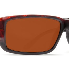 Costa Del Mar Costa Fantail Tortoise Frame Copper 580P Lens