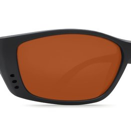 Costa Del Mar Costa Fisch Sunglasses - Blackout Frame & Copper 580P Lens