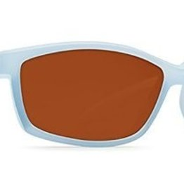 Costa Del Mar Costa Manta Sunglasses - Matte Ocean Frame & Copper Glass Lens