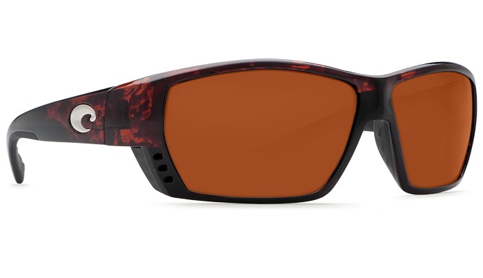Costa Del Mar Costa Tuna Alley Tortoise Frame Copper 580G Lens