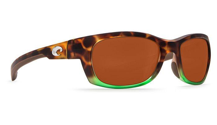 Costa Del Mar Costa Trevally Sunglasses -  Matte Tortuga Fade Frame & Copper Lens