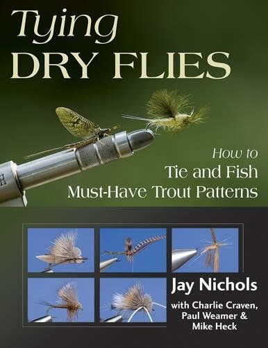 Anglers Book Supply Tying Dry Flies: How to Tie and Fish Must-Have Trout Patterns - Spiral Bound Hardcover
