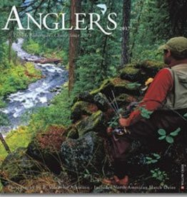 Willow Creek Press 2017 Calendar Angler's: The Flyfisherman's Choice