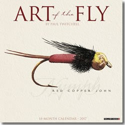 David Lambroughton 2017 Calendar Art of the Fly