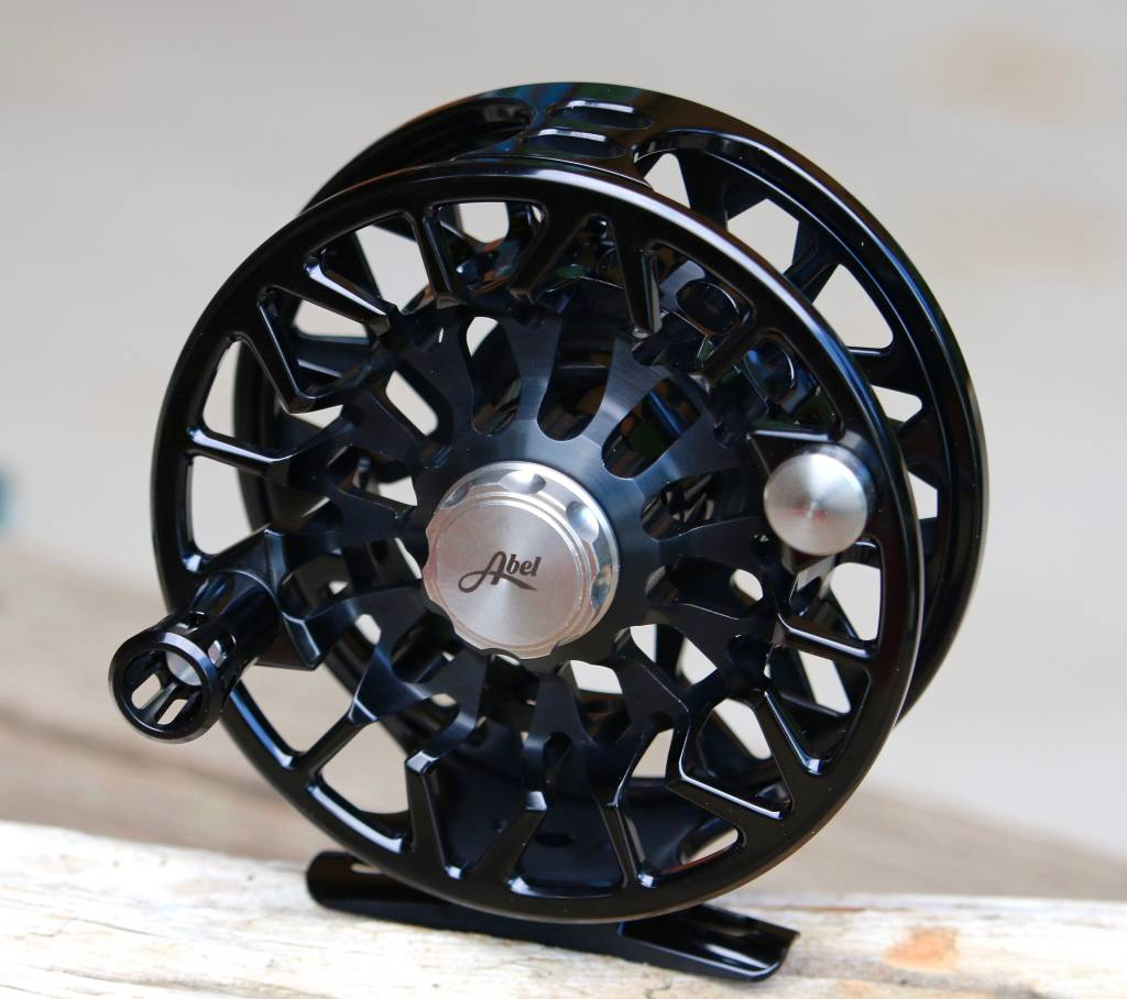 Abel Automatics Abel Custom SDS (Sealed Drag Salt) Reel - Basic Black 7/8 RH
