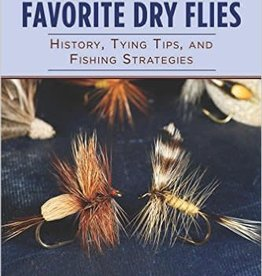 Skyhorse Publishing 101 Favorite Dry Flies by David Klausmeyer - Softcover