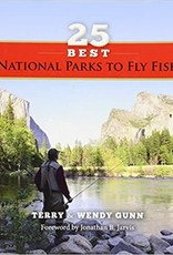 Anglers Book Supply 25 Best National Parks to Fly Fish - Softcover