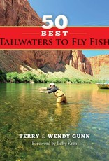 Anglers Book Supply 50 Best Tailwaters to Fly Fish - Soft Cover