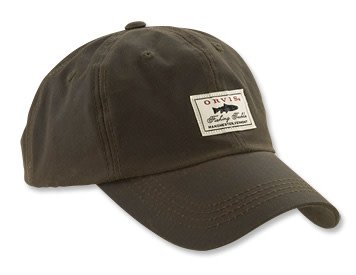 Orvis Orvis Vintage Waxed-Cotton Ball Cap