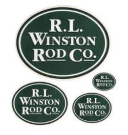 Winston Rod Co. Winston Logo Decal