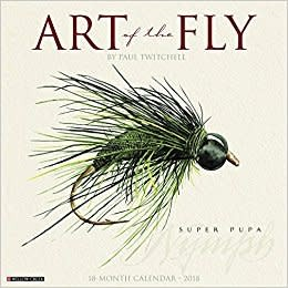 David Lambroughton 2018 Calendar - Art of the Fly 2018