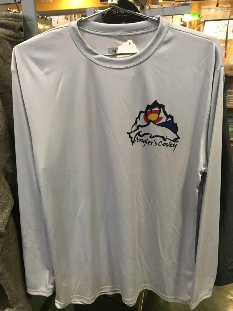 Nate Karnes AC Logo Pig Brown LS Shirt