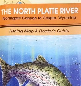 Shook Book Publishing The North Platte River Fishing Map & Floater's Guide
