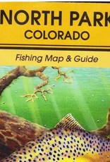 Shook Book Publishing North Park Colorado Fishing Map & Guide