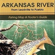 Shook Book Publishing Arkansas River Fishing Map & Floater's Guide