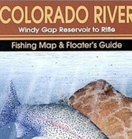 Shook Book Publishing Colorado River Fishing Map & Floater's Guide