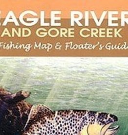 Shook Book Publishing Eagle River & Gore Creek Fishing Map & Floater's Guide