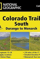 National Geographic Maps Nat Geo Map Colorado Trail South, Durango to Monarch