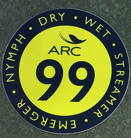 ARC Fishing ARC 99 Sticker - Green/Blue