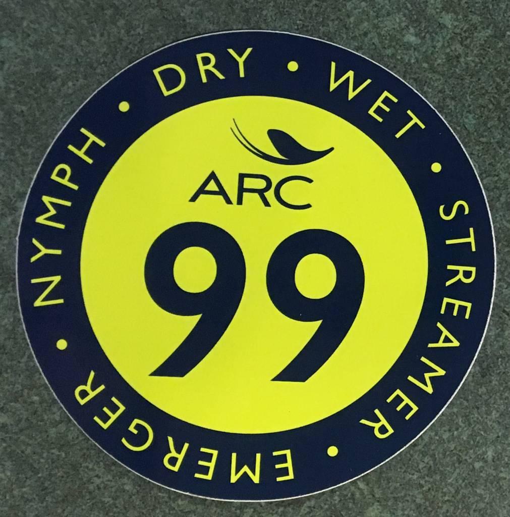 ARC Fishing ARC 99 Sticker - Green/Blue