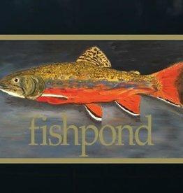 "Fishpond Fishpond Brookie Sticker 5"""