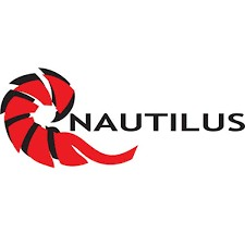"Nautilus Reels Nautilus Large Window Sticker 8"" x 3"""