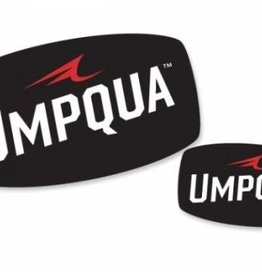 "Umpqua Feather Merchants Umpqua Decal Small 3.5"" x 2"""