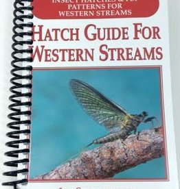 Anglers Book Supply Hatch Guide to Western Streams by Jim Schollmeyer - Spiral Bound