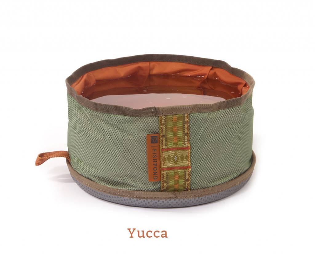 Fishpond Fishpond Bow Wow Travel Water Bowl Yucca