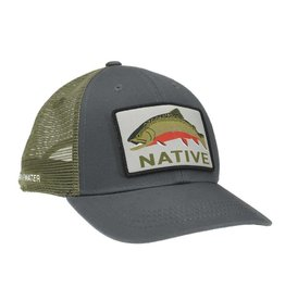 Rep Your Water L.L.P. Rep Your Water Native Brookie Patch Hat - Gray/Green