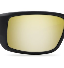 Costa Del Mar Costa Fantail Blackout Frame Sunrise Silver Mirror 580G Lens