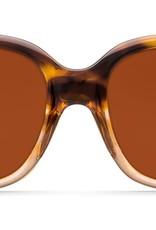 Costa Del Mar Costa Gannet Shiny Tortoise Fade Frame Copper 580P Lens