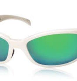 Costa Del Mar Costa Hammerhead Frame Silver Green Mirror 580G Lens