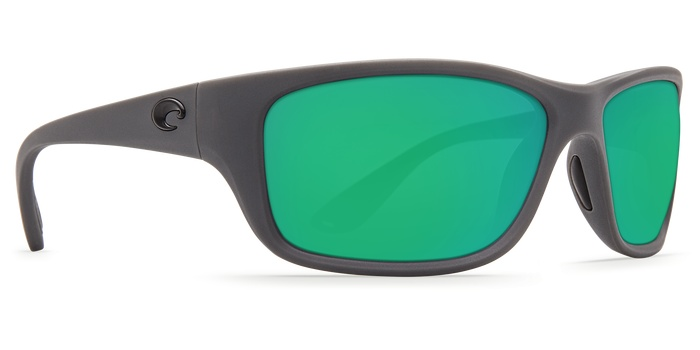 Costa Del Mar Costa Tasman Sea Matte Gray Frame Green Mirror 580P Lens