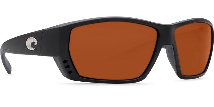 Costa Del Mar Costa Tuna Alley Matte Black Frame Copper +2.50 580P Lens