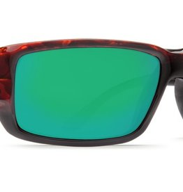 Costa Del Mar Costa Fantail Tortoise Frame Green Mirror 580G Lens