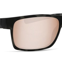 Costa Del Mar Costa Half Moon Ocearch Tiger Shark Frame Copper Silver Mirror 580P Lens